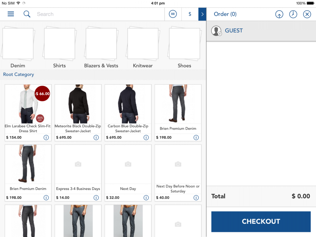 Magento Stock Inventory in the POS App