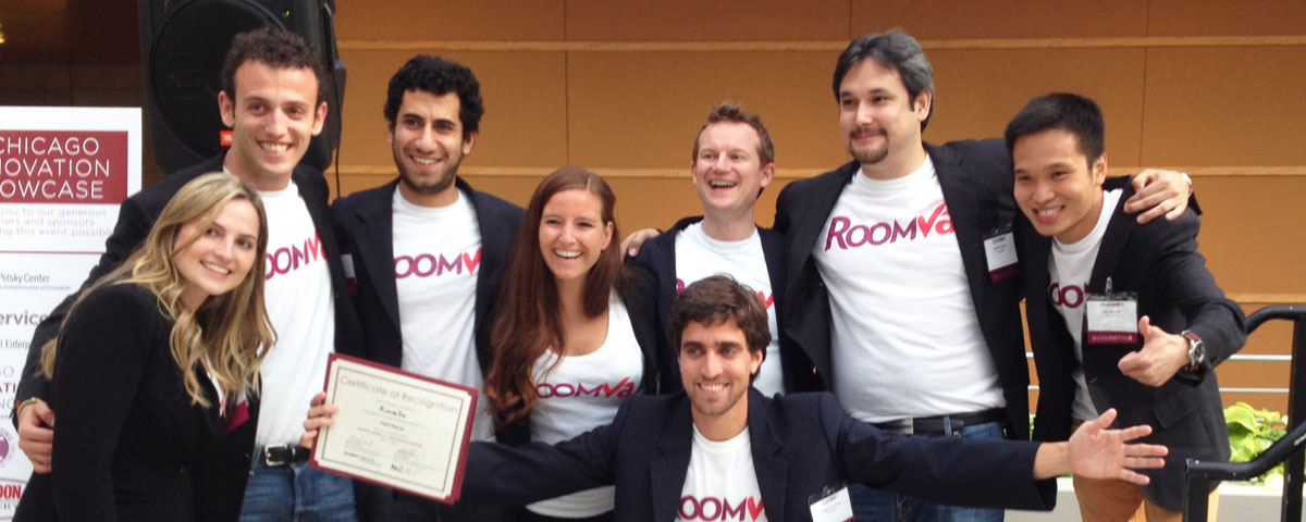 Roomva wins Chicago New Venture Challenge